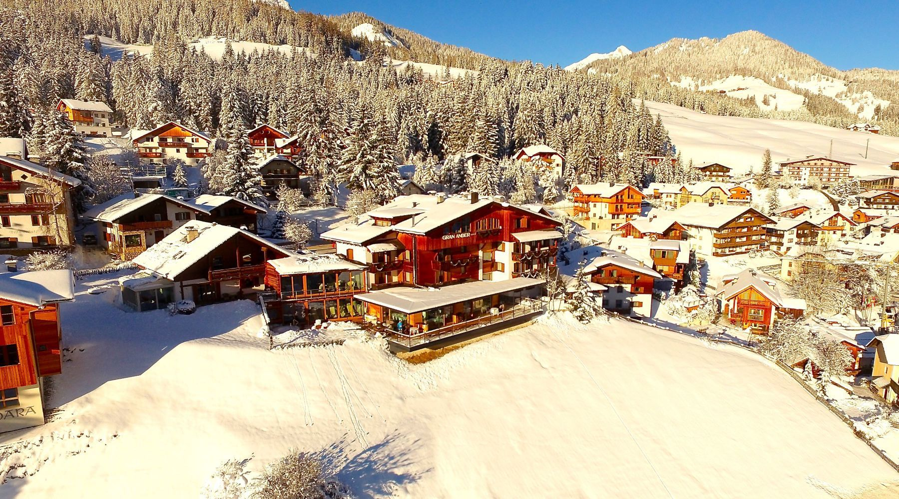 Hotel with wellness SPA in Alta Badia