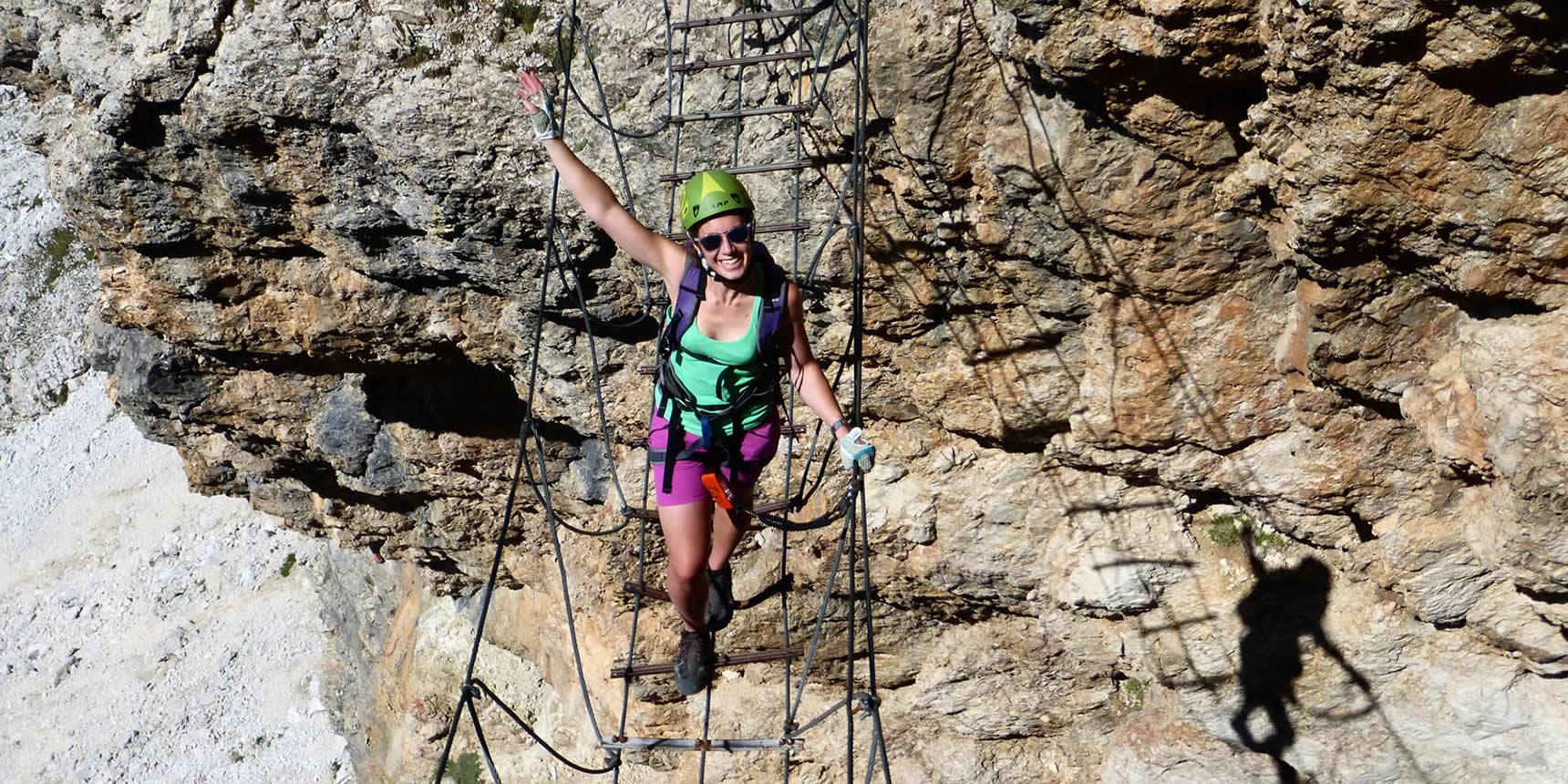 Arrampicata E Vie Ferrate In Alta Badia Nelle Dolomiti