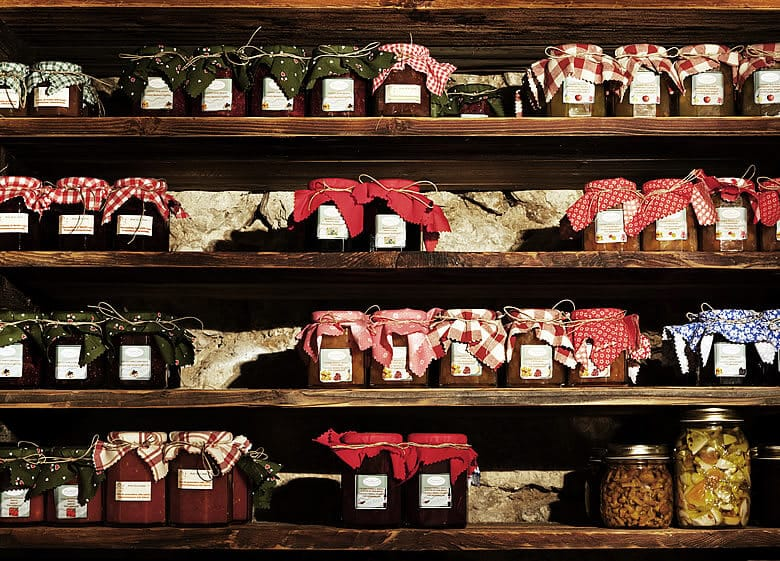 Jams and home-made products