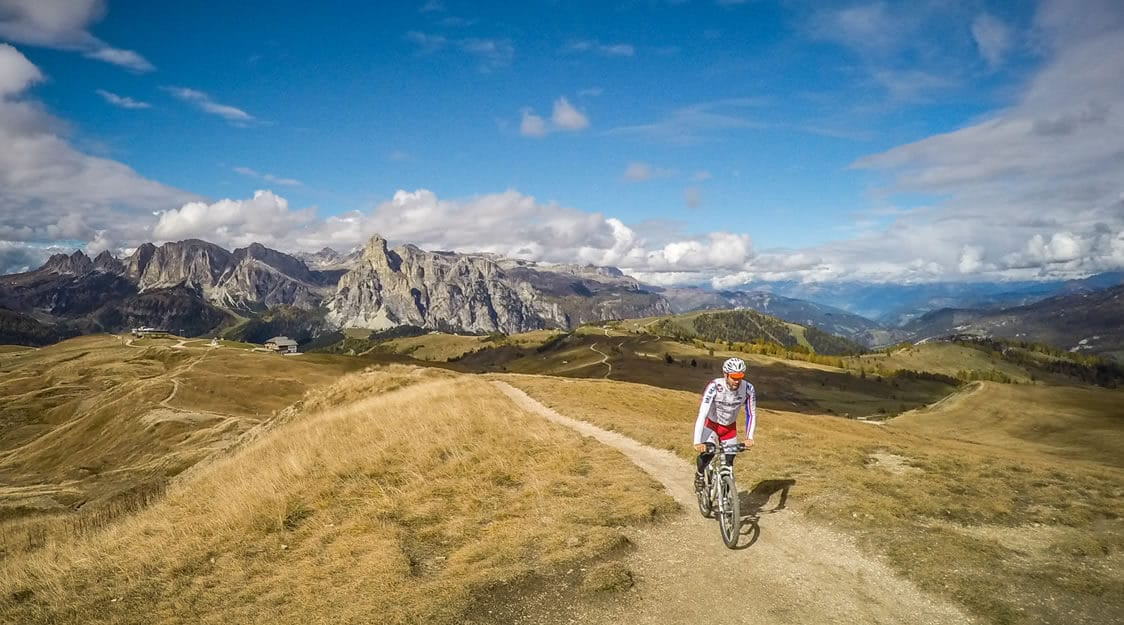 Itinerario mountain bike Pralongià-Störes