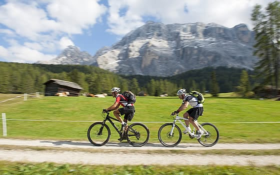 Bike holiday in Alta Badia